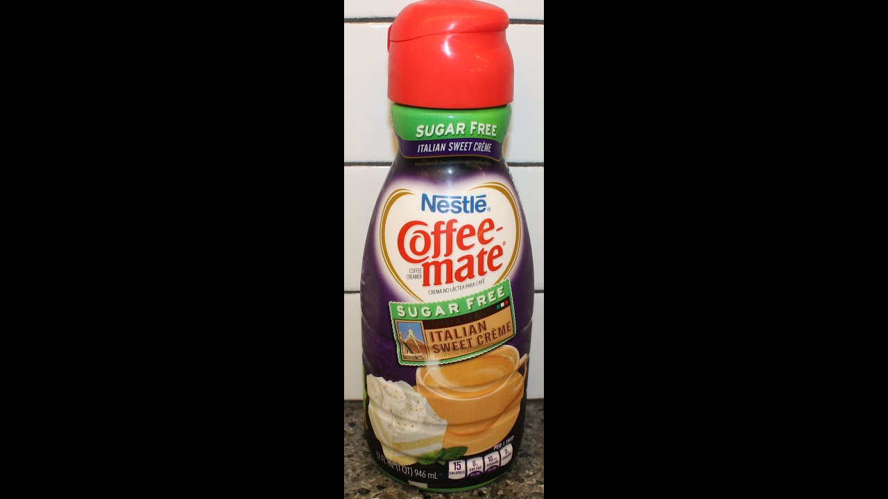 Nestle Coffee Mate Sugar Free Italian Sweet Cr 232 Me Review