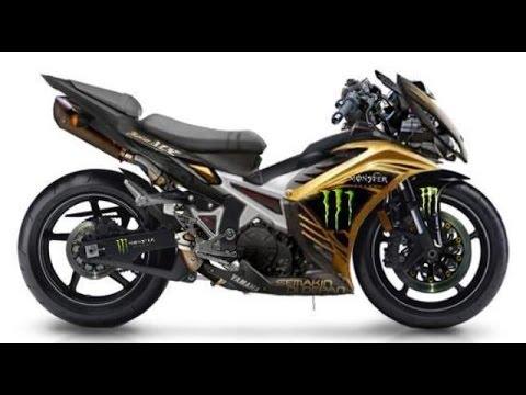 Motor Trend Modifikasi | Video Modifikasi Motor Yamaha Jupiter MX Keren Abis Terbaru