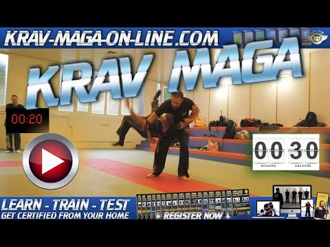 30 SECONDS OF AUTHENTIC KRAV MAGA