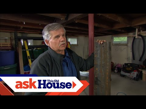 How to Repair a Damaged Carrying Beam | Ask This Old House