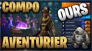 COMPO AVENTURIER OURS - FORTNITE SAUVER THE WORLD