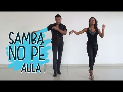 Samba no Pé - Aula 1 from YouTube · Duration:  4 minutes 21 seconds