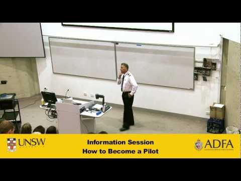 How to become a pilot - ADFA information session