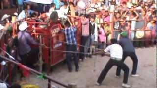 Quechultenango presente en el jaripeo de Zitlala, Guerrero