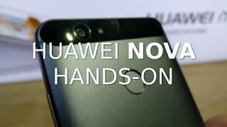 Huawei Nova hands-on