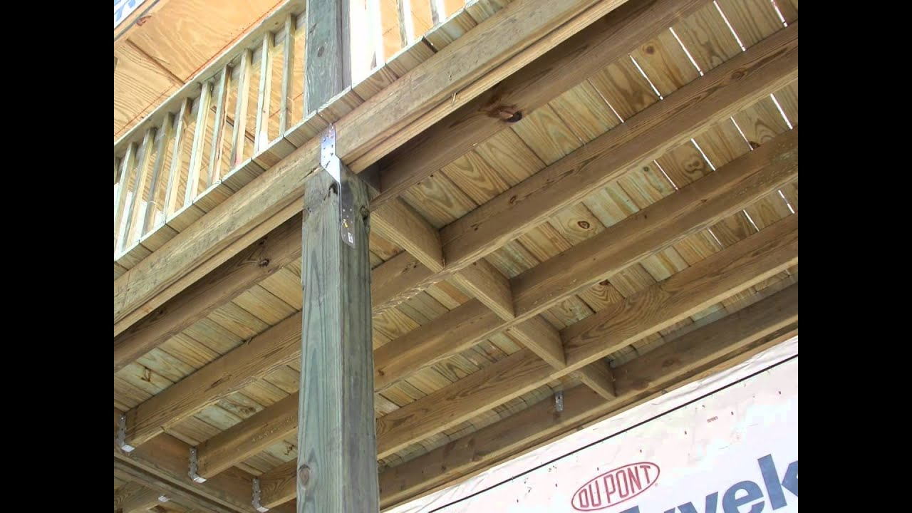 How To Install Hurricane Straps On Decks And Porches By