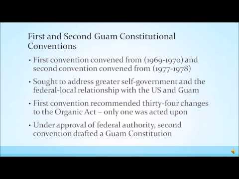 PA535 ORGANIC ACT OF GUAM