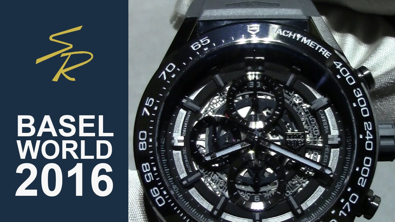 903f13741 Tag Carrera Heuer 01 Chrono Black Ceramic Baselworld 2016 - YouTube