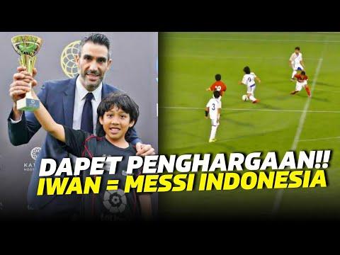 WOW!!! CETAK 42 GOL ANAK ASAL INDONESIA DISAMAKAN MESSI INDONESIA ABDURAHMAN IWAN Mp3