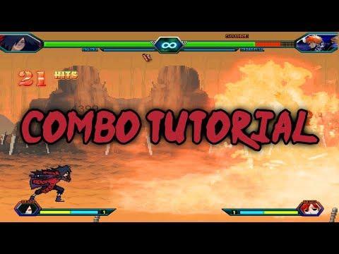 Bleach Vs Naruto 3.2 - Madara Uchiha Combo Tutorial