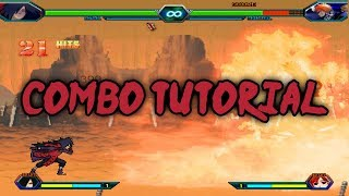Bleach Vs Naruto 3.2 - Madara Uchiha Combo Tutorial