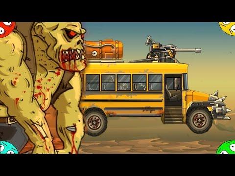 🐾 ДАВИМ ЗОМБИ #3 ФИНАЛ в игре Earn to die 2. Мультик про машинки. Игра про гонки через зомбяков