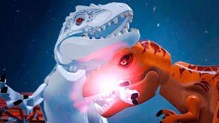 lego jurassic world o mundo dos dinossauros 20 t rex vs indominus rex