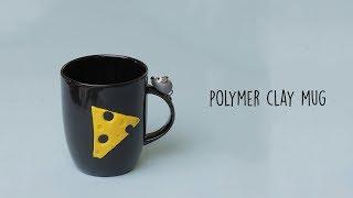 Polymer Clay DIY   Polymer Clay Mug Decoration