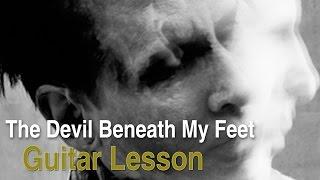 The Devil Beneath My Feet by Marilyn Manson (Guitar Lesson)