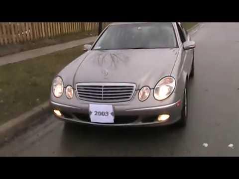 2003 Mercedes Benz E-320 Startup Engine & In Depth Tour