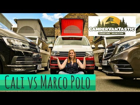 VW California vs Mercedes Benz Marco Polo - Battle of the Campers