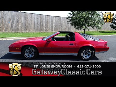 #7735 1984 Chevrolet Camaro Z28 Gateway Classic Cars St. Louis