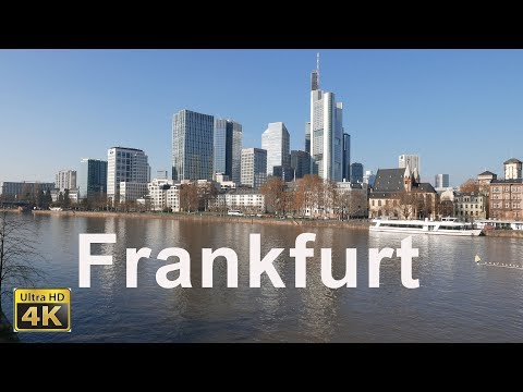 Frankfurt am Main in 4K