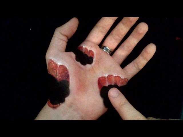 Horrific Bite - Funny 3D Hand Art