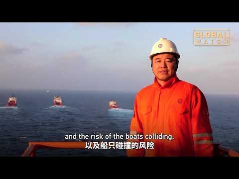 China's 100,000 ton deepwater oil production platform has arrived in Hainan|大国重器 深海一号抵达目标海域 开启安装调试