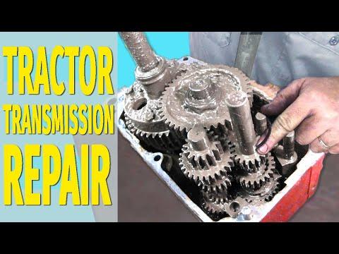 Tractor transmission repair