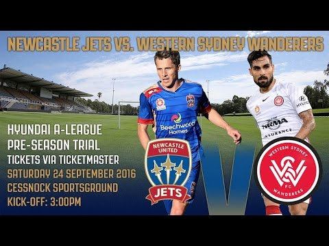 Hyundai A - League Pre Season Trial - Newcastle Jets v Western Sydney Wanderers