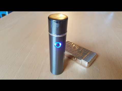 New style USB double arc Plasma Lighter! Unboxing and burning stuff