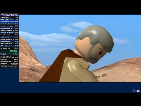 [Former WR] LEGO Star Wars: The Complete Saga All Minikits Speedrun In 4:27:13