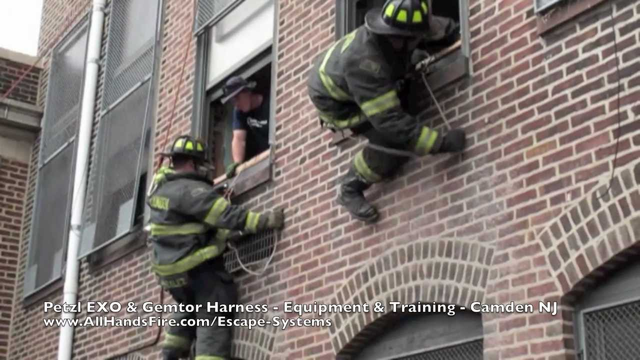 Petzl Exo Gemtor Harness In Camden Nj Fire Department