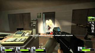 Let's Play: Left 4 Dead 2 halo + bf3 mods