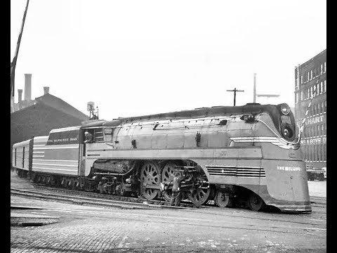 Milwaukee Road A Railroad At Work 1946 Film [4K]