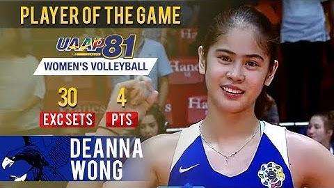 UAAP 81 WV: Deanna Wong named PoG after dropping 30 EXC sets vs FEU | April 3, 2019