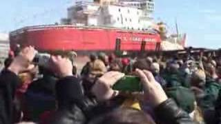 USCG Cutter Mackinaw (30) launch