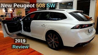 New Peugeot 508 SW Estate GT Line 2019 Review Interior Exterior