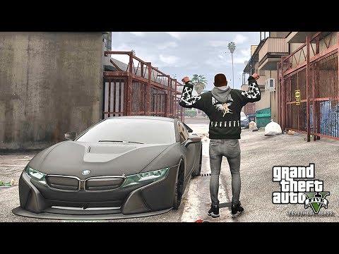 GTA 5 REAL LIFE CJ MOD #78 - I8 THIS !!!(GTA 5 REAL LIFE MODS/ THUG LIFE)
