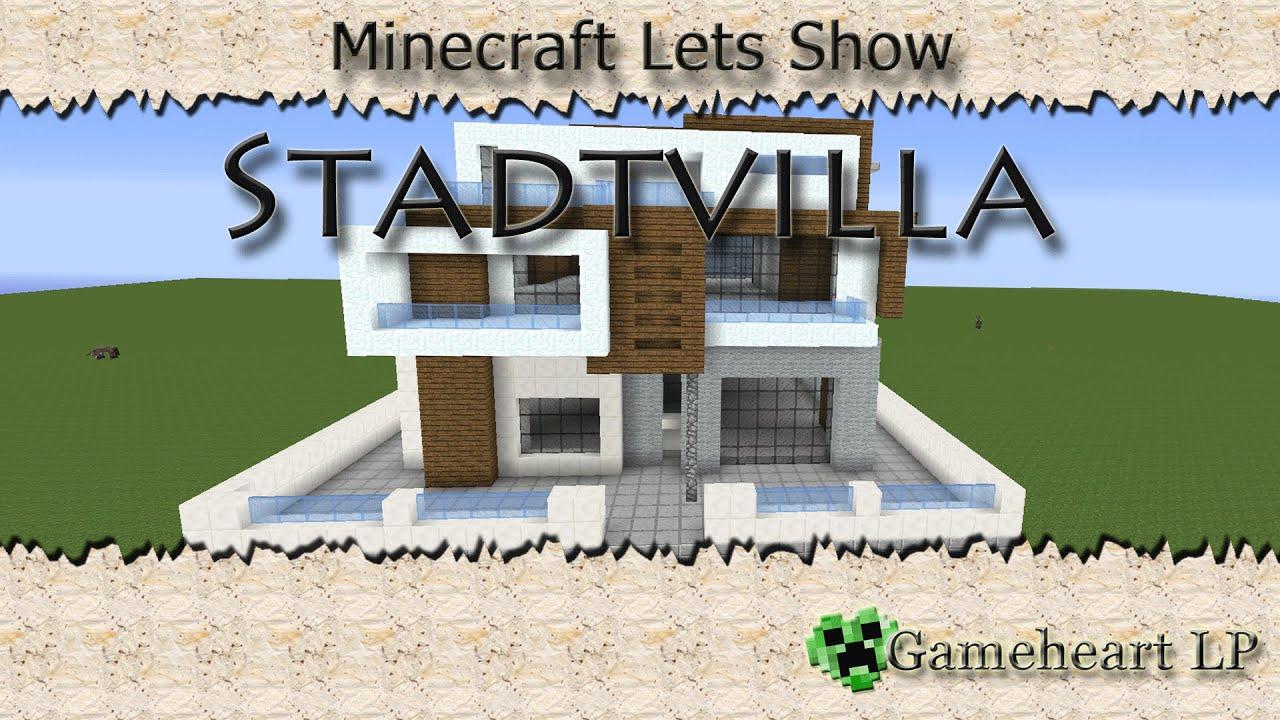 Minecraft moderne stadtvilla mit bauanleitung youtube for Modernes haus minecraft bauplan