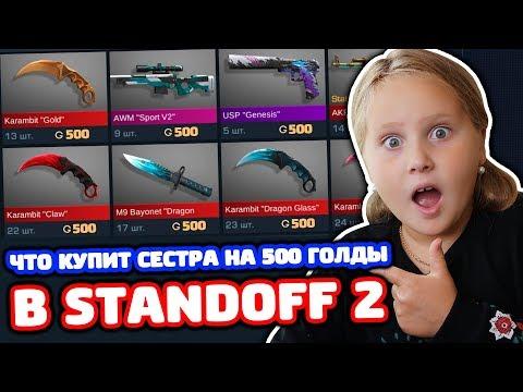 ЧТО КУПИТ СЕСТРА НА 500 ГОЛДЫ В STANDOFF 2!