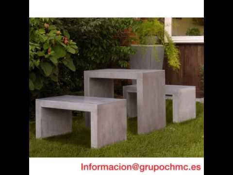 Muebles de hormigón arquitectónico   youtube
