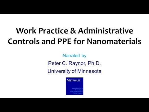 Module 15: Work Practice & Administrative Controls and PPE
