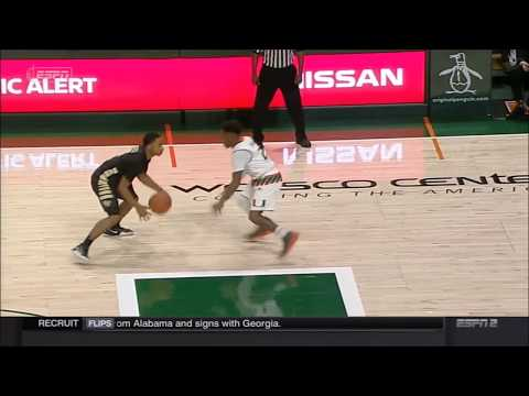 Player control foul called - Two plays with contact - Second contact called - Flop or not?