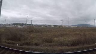 【近鉄】名古屋線急行 桑名到着前ー富田