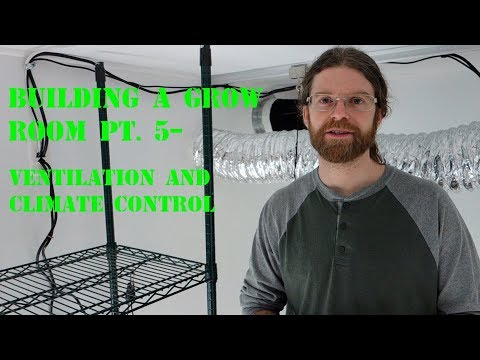 Building a Grow Room Pt. 5-Ventilation and Climate control