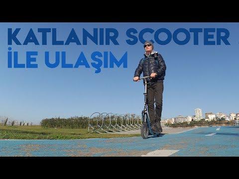 Katlanır Scooter ile Şehir İçi Ulaşım