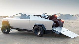 Download Tesla Cyberquad ATV: Elon Musk Reveals All-Electric Quad! Mp3 and Videos