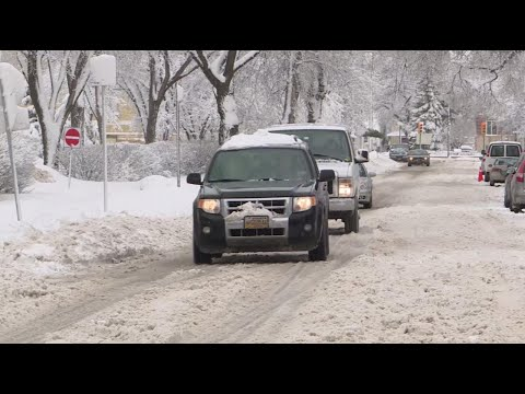 Winnipeg blasted by winter weather