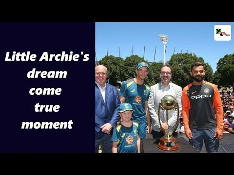 Watch: Little Archie brings smiles to Kohli and Paine ahead of Boxing Day Test