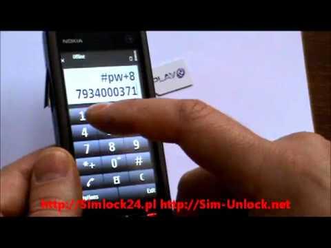 Unlocking Nokia 5230 enter unlock code