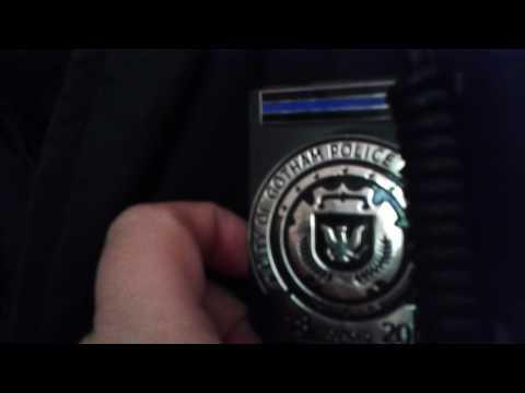 Gotham city police uniform