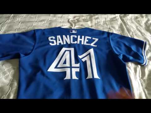 huge discount ae389 377a7 Toronto Blue Jays Aaron Sanchez, Authentic 2014 Jersey ...